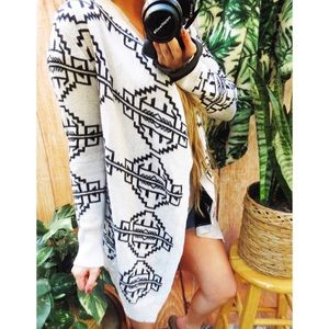 Urban outfitters western aztec cardigan 🌿